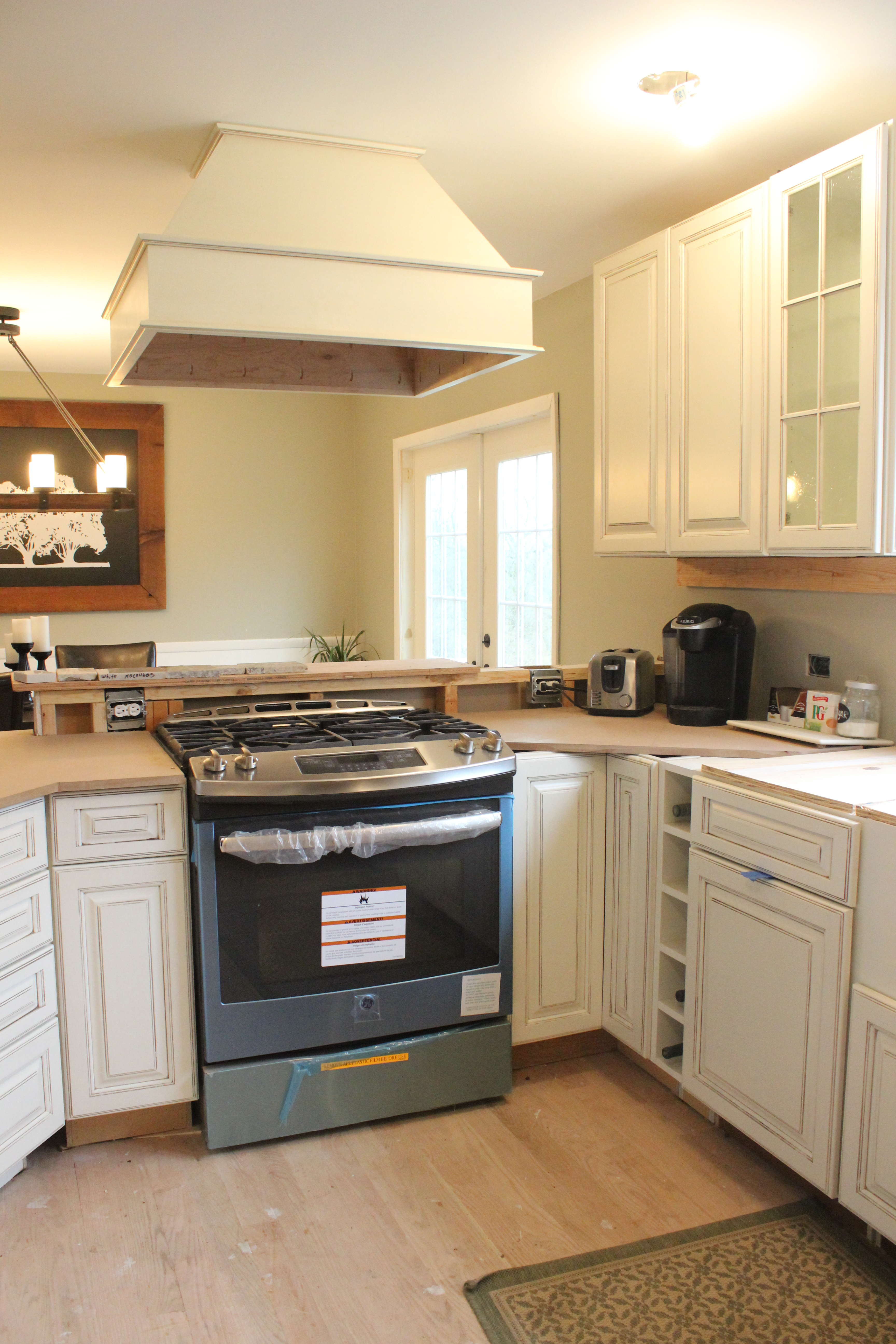 Big Kitchen Renovation Part II Paint Cabinets & Hotel Stays
