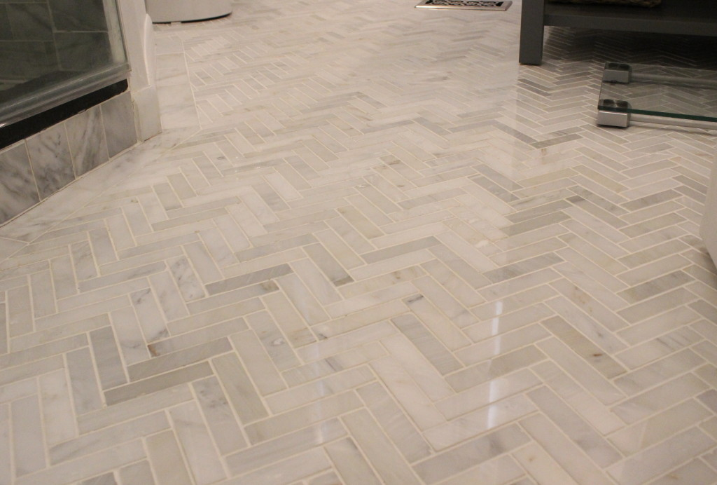 Carrera Marble Floor 12 Oaks