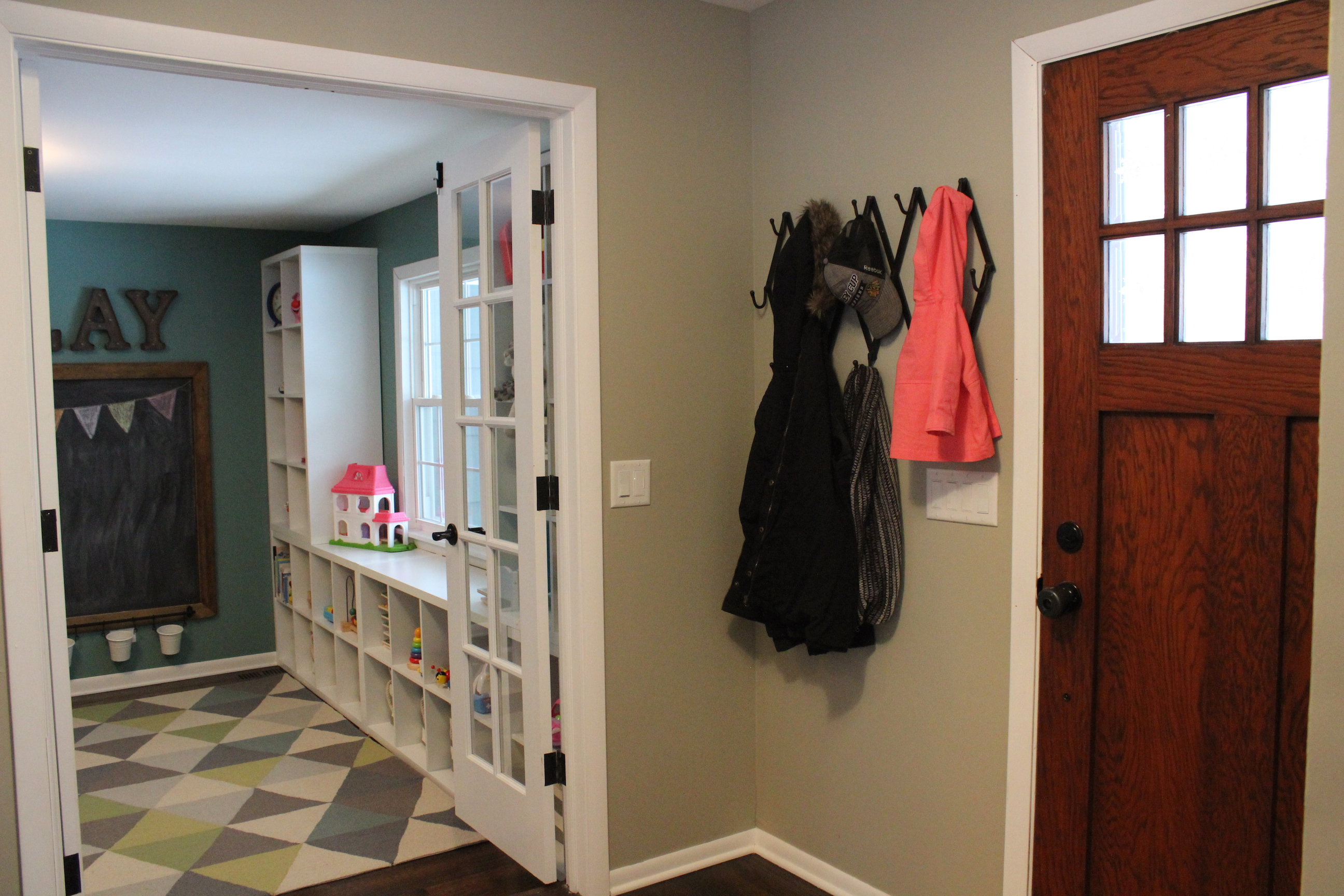 playroom entry way