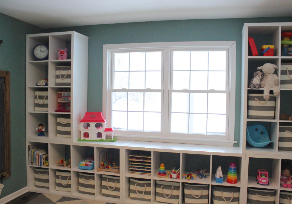 ikea kallax playroom | 12 Oaks