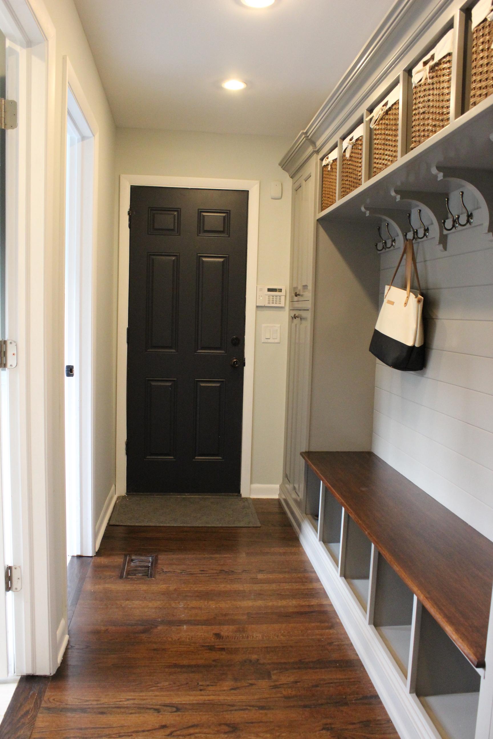 mudroom-hallway-with-door