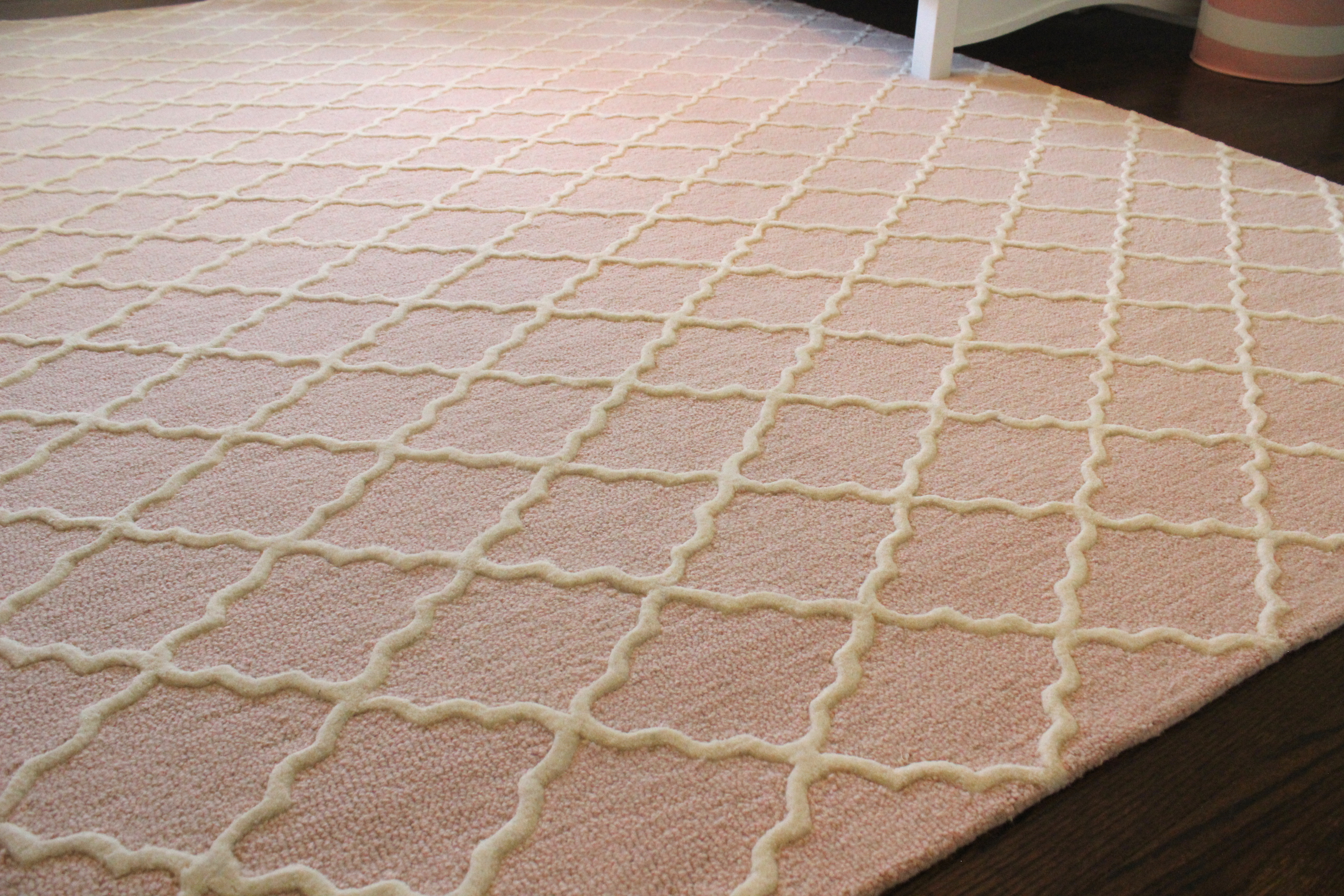 Here Is A Close Up Of The Rug We Got From Pottery Barn It Addison 8 X 10 In Blush I Just Love Combo Blue Walls And Pink